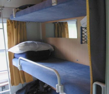 Train Cabin Couchette