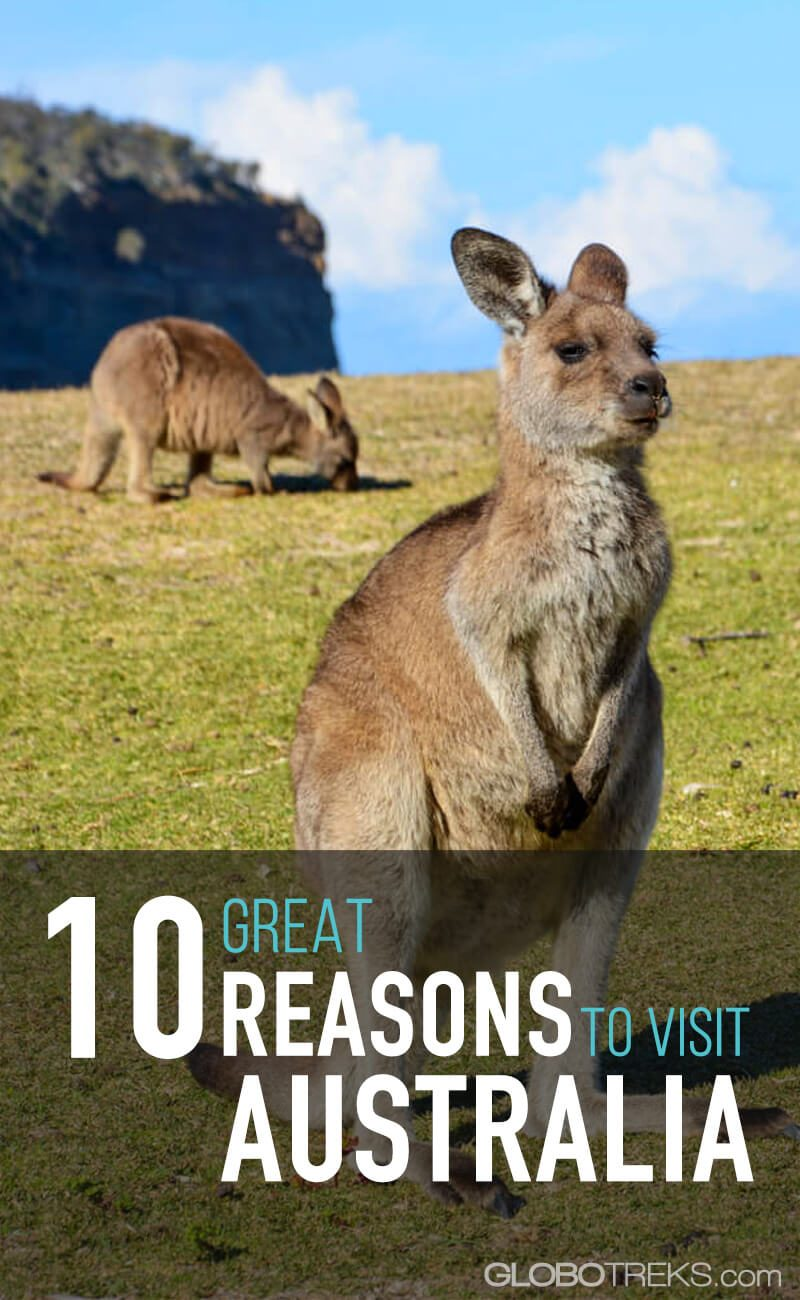 10 Great Reasons to Visit Australia