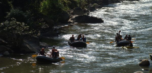 Whitewater Rafting in Thailand