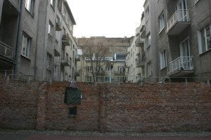 Weekly Snapshot: Last Remnant of Warsaw Ghetto Wall