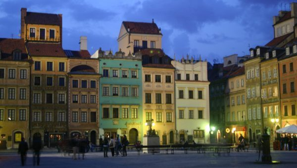 Warsaw's Old Town Square