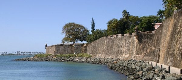 Fortress Walls at Old San Juan