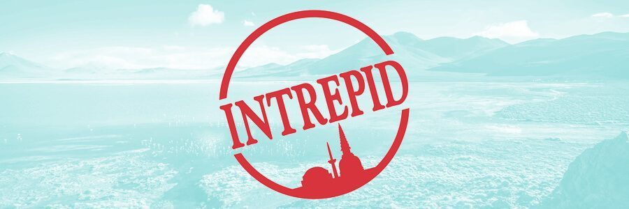 Intrepid Travel Logo with Background