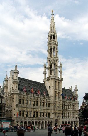 Brussels Town Hall at Grote Markt