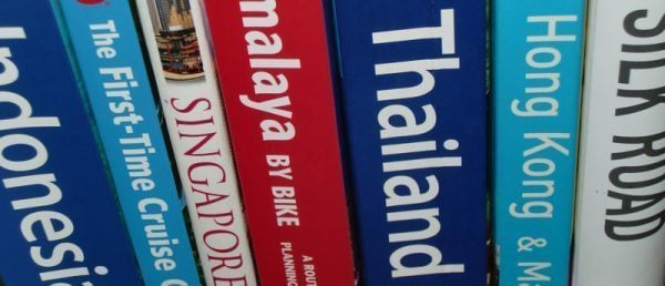 Stack of Guidebooks