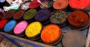 Pisaq's Market watercolors and dyes
