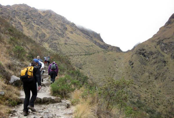 Walk up to Dead Woman Pass - Warmiwañusca