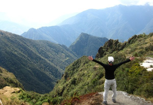 At Phuyupatamarca - Inca Trail