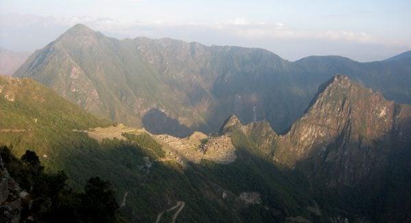 Machu Picchu from Intipunku