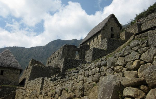 Urban area of Machu Picchu