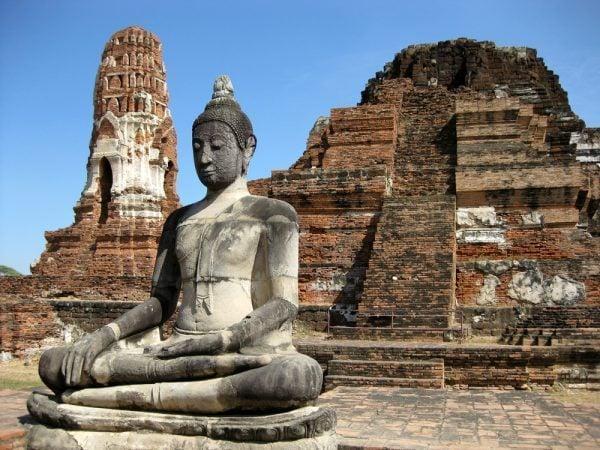 Wat Phra Mahathat, Ayutthaya, Thailand