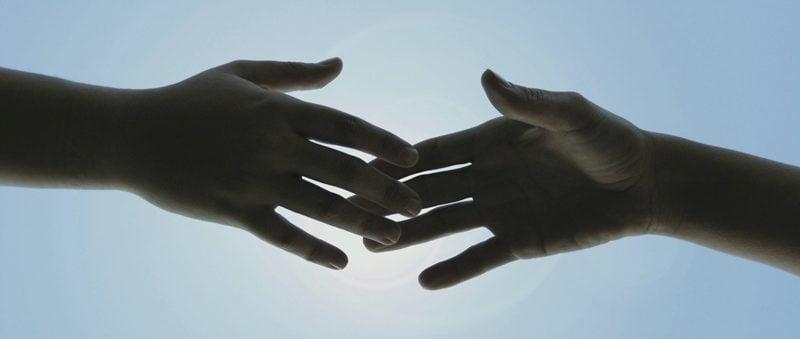 Hands Touching, volunteering