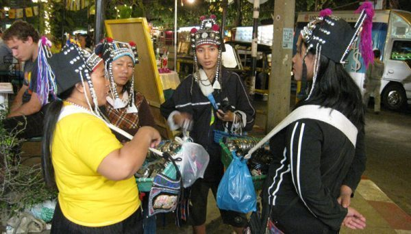 Bargaining in Chiang Mai, Thailand