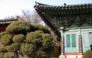 Seoul, south korea traditional temple