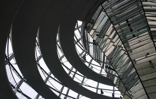 Reischtag Cupola in Berlin