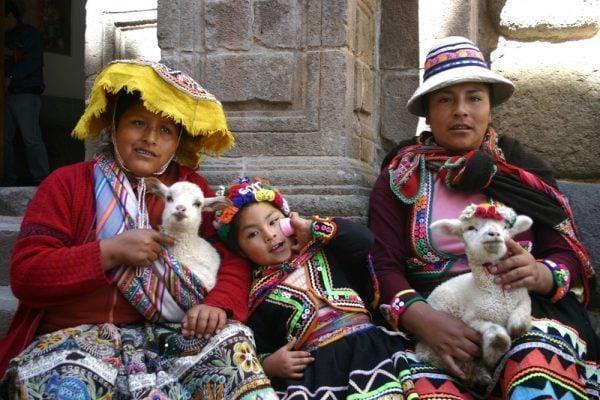 Quechua Women in Cuzco, Peru
