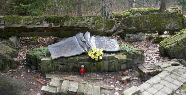 Von Stauffenberg Memorial at Wolf's Lair, Poland