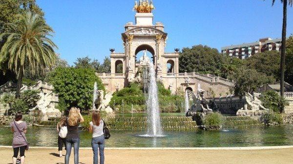 Gaudi Cascada Fountain