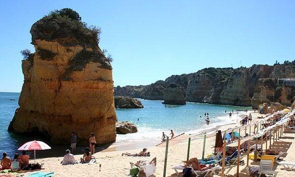 praia da dona ana, Algarve Portugal
