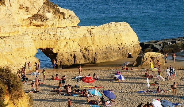 Praia da Rocha Algarve Portugal