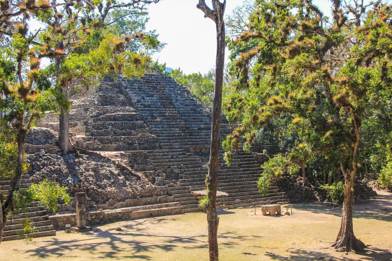 Copan Ruinas Temple Ruins