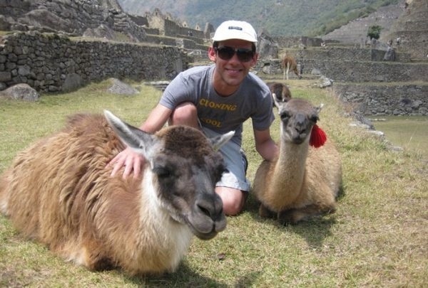 Norbert at Machu Picchu
