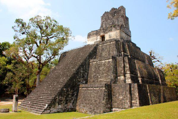 Temple II Tikal Guatemala