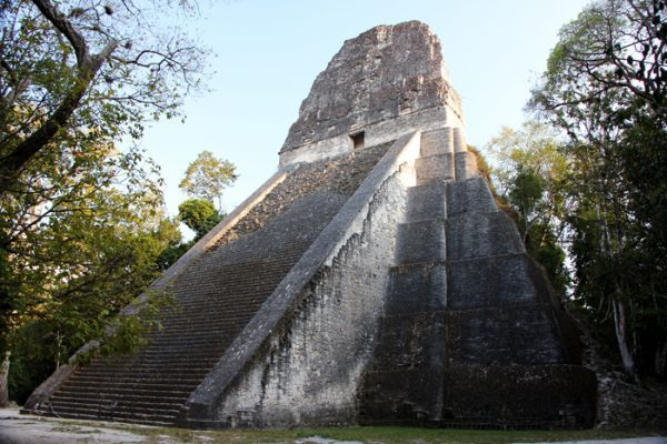 Temple V Tikal Guatemala