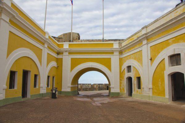 Castillo San Felipe del Morro, Old San Juan