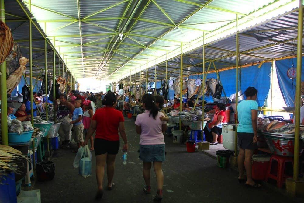 Photo essay puerto de la libertad el salvador globotreks for La fish market