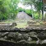 Visiting the Lamanai Maya Ruins