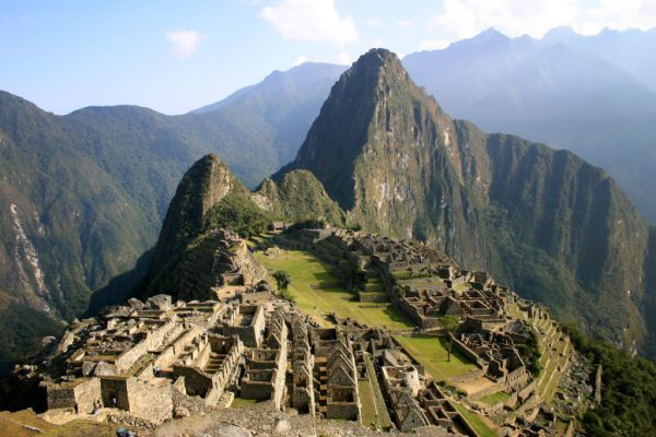 The Ruins of Machu Picchu, Peru