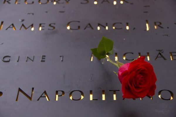 world trade center memorial essay 9/11 - a summary american airlines flight 11 crashed into the north tower of the world trade center in new york city the entire crew a design for a memorial includes the names of every one of the victims set into the footprints of the two towers.