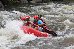 Smokey Mountains Whitewater Rafting, Pigeon River, Tennessee