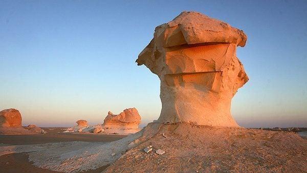 White Desert Camping, Egypt