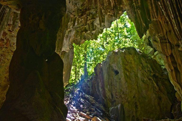 Caving at Actun Yok' Balum