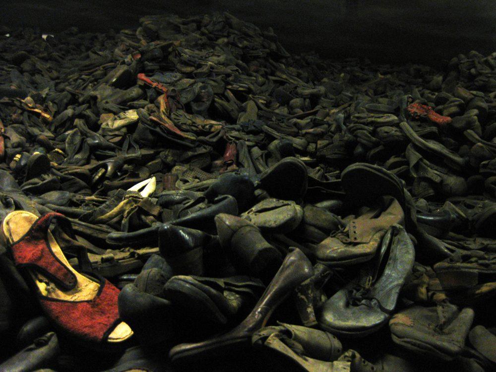 Weekly Snapshot: Shoes in Auschwitz