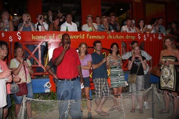 World Famous Chicken Drop, San Pedro, Belize