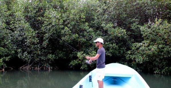 Norbert Fishing