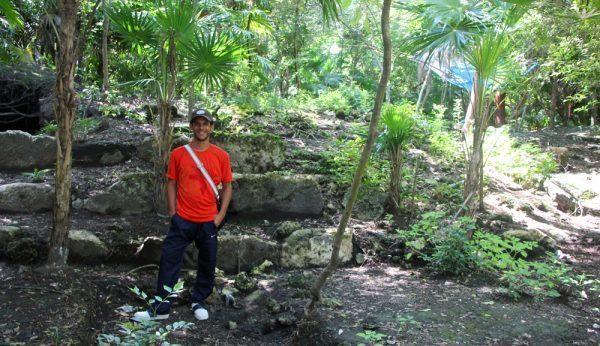 Marco Gonzales in San Pedro, Belize
