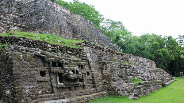 Jaguar temple at Lamanai, Belize