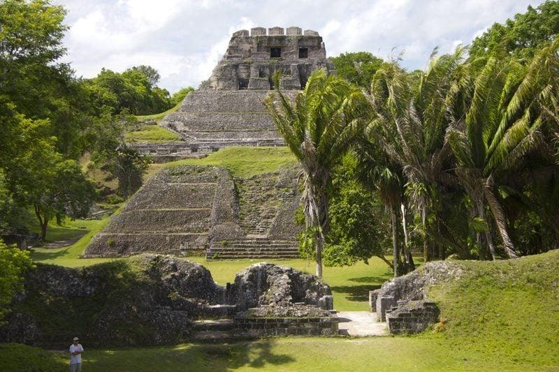 El Castillo at Xunantunich, Cayo, Belize
