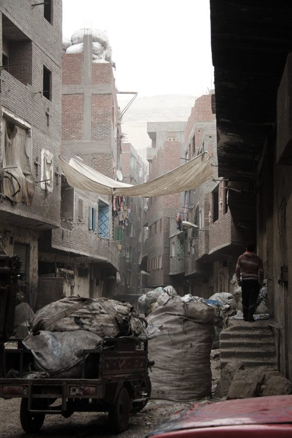 Garbage City, Cairo, Egypt