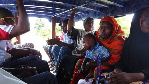 Dalla dalla in Zanzibar, Tanzania
