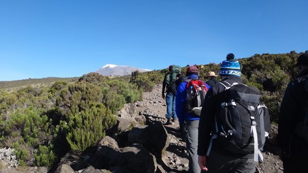 Hiking Mount Kilimanjaro in Tanzania