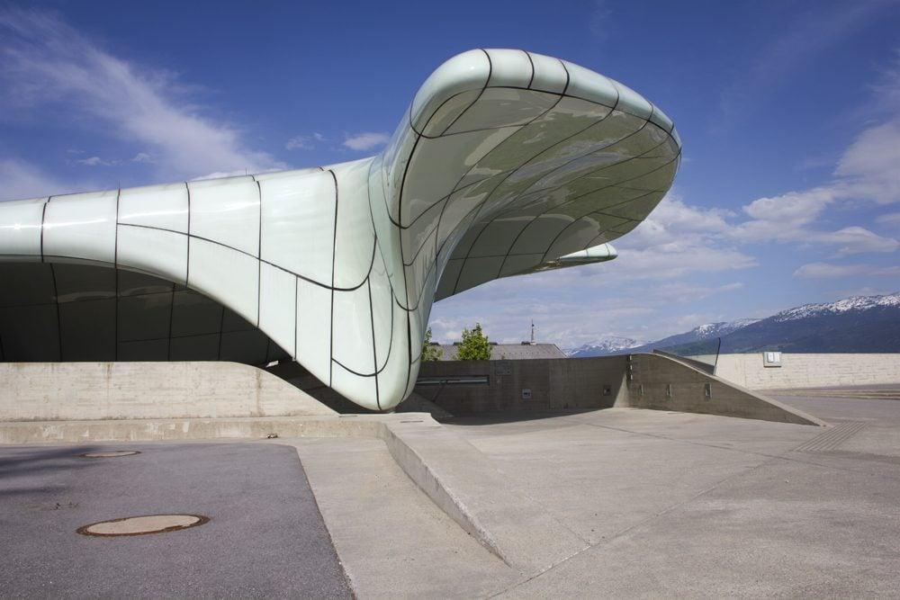 Weekly snapshot innsbruck s panorama - Zaha hadid architektur ...