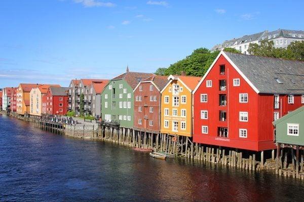 Gamle Bybro Bridge in Trondheim, Norway | GloboTreks