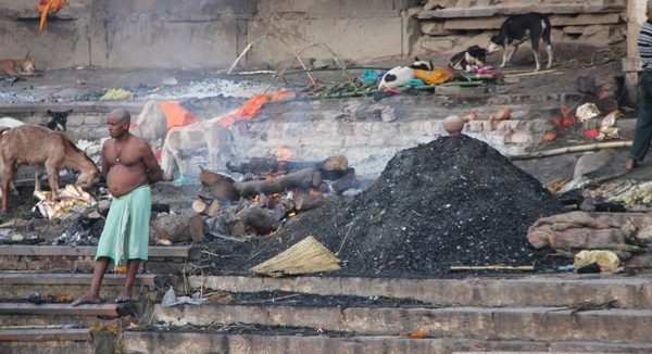 Burning Ghats at Varanasi, India