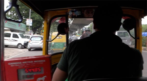 Autorickshaw in India