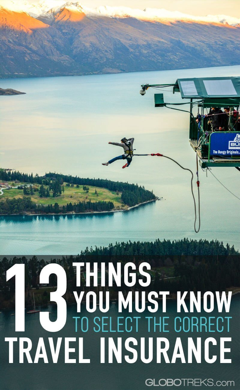 13 things you must know to select the correct travel insurance